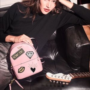 Victoria's Secret patch small city backpack
